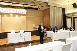 副理事長による 開会の言葉