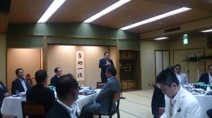 建設関連6団体協議会 会長 﨑田誠伸様挨拶