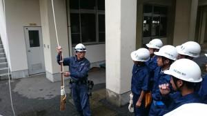 ロープワーク応用④