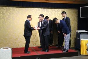 西日本豪雨災害 寄付金贈呈