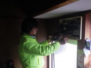 ボランティア活動(分電盤の絶縁測定)